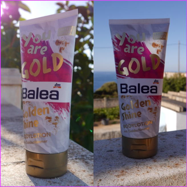 Testmonster balea golden shine